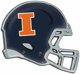 Illinois Fighting Illini Auto Emblem - Helmet
