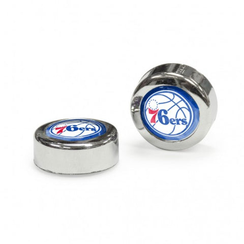 Philadelphia 76ers Screw Caps Domed