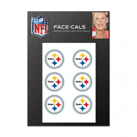 Pittsburgh Steelers Tattoo Face Cals
