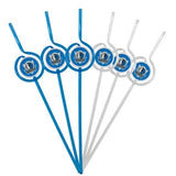 Dallas Mavericks Team Sipper Straws
