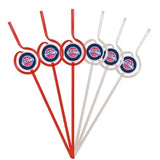 Detroit Pistons Team Sipper Straws