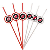 New Jersey Devils Team Sipper Straws