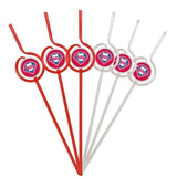Philadelphia Phillies Team Sipper Straws