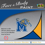 Memphis Tigers Face Paint