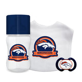 Denver Broncos Baby Gift Set 3 Piece