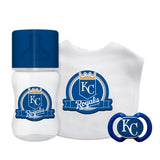 Kansas City Royals Baby Gift Set 3 Piece