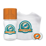 Miami Dolphins Baby Gift Set 3 Piece
