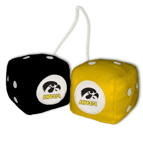 Iowa Hawkeyes Fuzzy Dice
