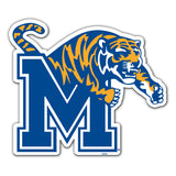 Memphis Tigers Magnet Car Style 12 Inch - Special Order