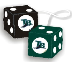 Tampa Bay Rays Fuzzy Dice