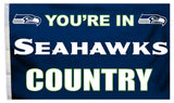 Seattle Seahawks Flag 3x5 Country - Special Order