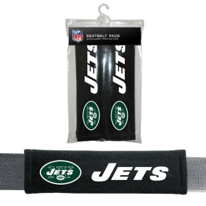 New York Jets Seat Belt Pads Velour
