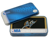 Washington Wizards Checkbook Cover Embroidered Leather