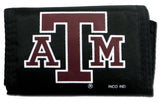 Texas A&M Aggies Wallet Nylon Trifold