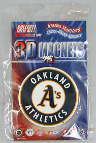 Oakland Athletics Jumbo 3D Magnet