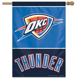 Oklahoma City Thunder Banner 28x40 Vertical - Special Order