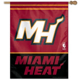 Miami Heat Banner 28x40 Vertical - Special Order