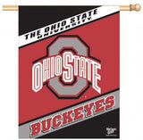 Ohio State Buckeyes Banner 27x37 Vertical Alternate Design