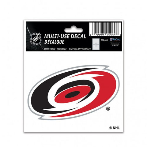 Carolina Hurricanes Decal 3x4 Multi Use Color Special Order