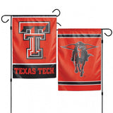 Texas Tech Red Raiders Flag 12x18 Garden Style 2 Sided