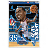 Oklahoma City Thunder Decal 11x17 Multi Use Kevin Durant Caricature Design