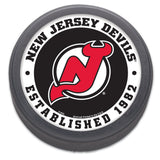 New Jersey Devils Hockey Puck Packaged Est 1982 Design
