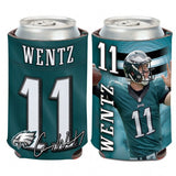 Philadelphia Eagles Carson Wentz Can Cooler