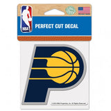 Indiana Pacers Decal 4x4 Perfect Cut Color - Special Order