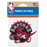 Toronto Raptors Decal 4x4 Perfect Cut Color Special Order