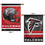 Atlanta Falcons Banner 28x40 Vertical Premium 2 Sided Special Order