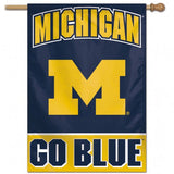 Michigan Wolverines Banner 28x40 Vertical