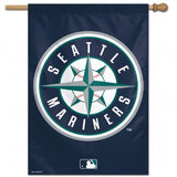 Seattle Mariners Banner 28x40 Vertical