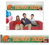 Cleveland Browns Banner 12x65 Party Style