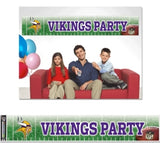 Minnesota Vikings Banner 12x65 Party Style