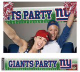 New York Giants Banner 12x65 Party Style Special Order