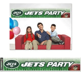 New York Jets Banner 12x65 Party Style Special Order
