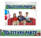 Tennessee Titans Banner 12x65 Party Style