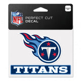 Tennessee Titans Decal 4.5x5.75 Perfect Cut Color