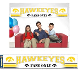 Iowa Hawkeyes Banner Party