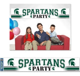 Michigan State Spartans Banner 12x65 Party Style Special Order