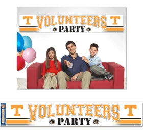 Tennessee Volunteers Banner 12x65 Party Style Special Order