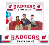 Wisconsin Badgers Banner 12x65 Party Style