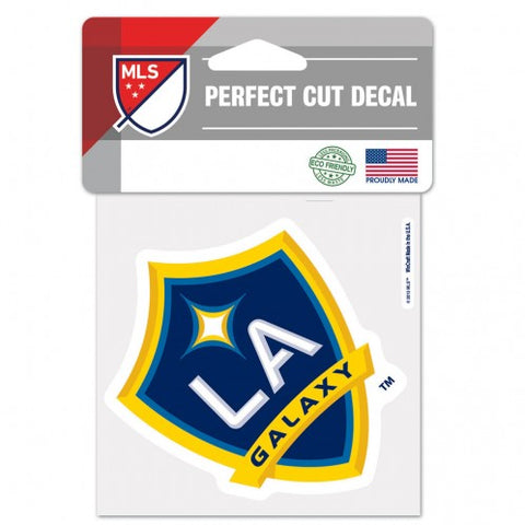 Los Angeles Galaxy Decal 4x4 Perfect Cut Color