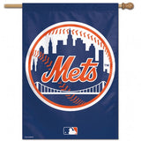 New York Mets Banner 28x40 Vertical - Special Order