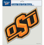Oklahoma State Cowboys Decal 8x8 Perfect Cut Color - Special Order