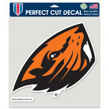 Oregon State Beavers Decal 8x8 Die Cut Color