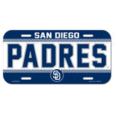 San Diego Padres License Plate