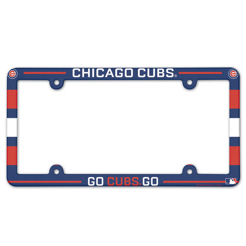 Chicago Cubs License Plate Frame - Full Color