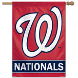 Washington Nationals Banner 28x40 Vertical