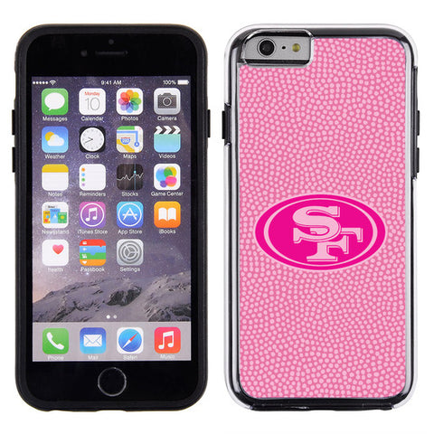 San Francisco 49ers Pink NFL Football Pebble Grain Feel IPhone 6 Case - Special Order